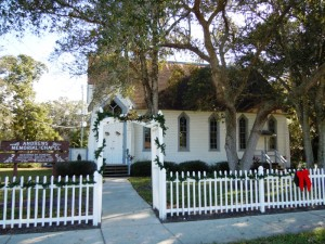 Owned And Operated By The Dunedin Historical Museum Andrews Memorial Chapel Is Cutest Little Wedding Its Located At Entrance To